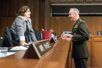 Senate Confirms Dunford for Additional 2-Year Term as Chairman