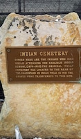 A plaque commemorates the Native Americans who died while attending the Carlisle Indian Industrial School in Carlisle, Pennsylvania.