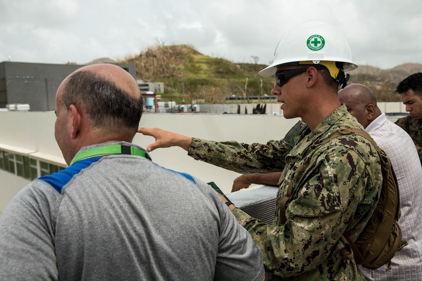 The 26th MEU is supporting Federal Emergency Management Agency, the lead federal agency, in helping those affected by Hurricane Maria to minimize suffering and is one component of the overall whole-of-government response effort.