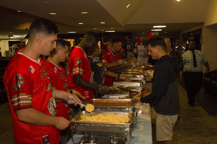 US service members celebrate end of summer