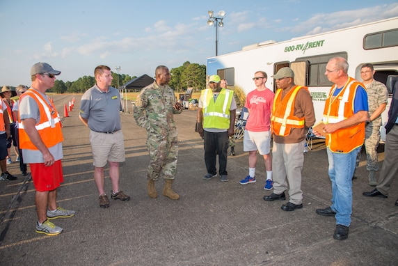 Red River's Expeditionary team assists hurricane victims
