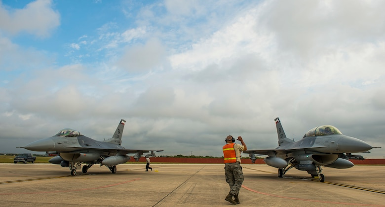 149th Fighter Wing Training Exercise