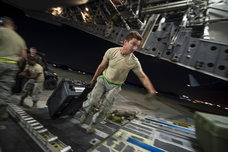 437 AW provides relief efforts to Hurricane Maria, Irma victims