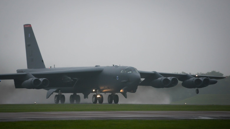 Air Force B-52 Stratofortress assure allies in the U.K.