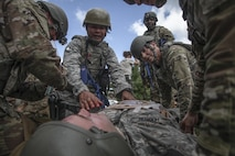 Airmen train for combat at National Guard training center