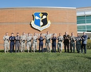 Col. Jae Hong Park, commander of the Republic of Korea Air Force Weather Wing, visited the 557th Weather Wing at Offutt Air Force Base, Nebraska, Sept. 21, 2017.
