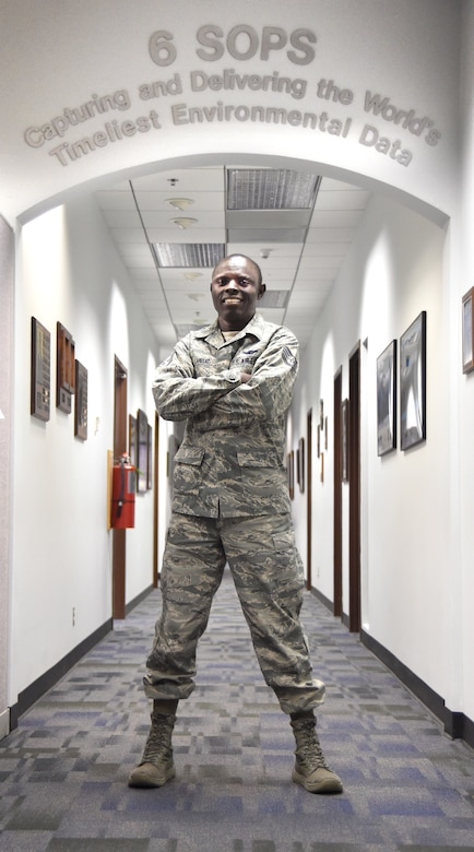 Schriever Airman never stops running toward dreams