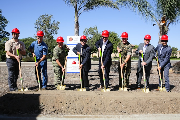 MCAS Miramar breaks ground for new microgrid