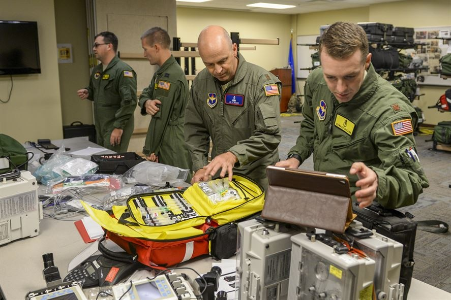 Air Force provides aeromedical evacuation to dialysis patients trapped by hurricanes