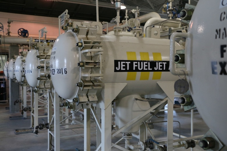 Jet fuel containers