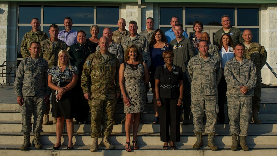 Hurlburt inducts 2017-2018 Honorary Commanders