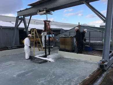 Research to enhance mechanical recovery of oil in Arctic conditions