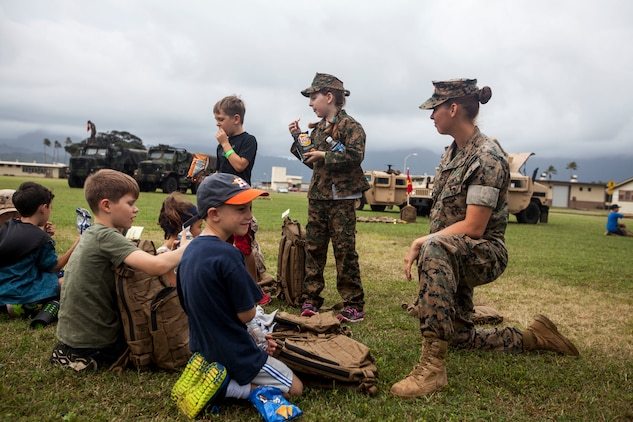 Marine for a Day: Operation Ooh-Rah Kids gives children a taste of