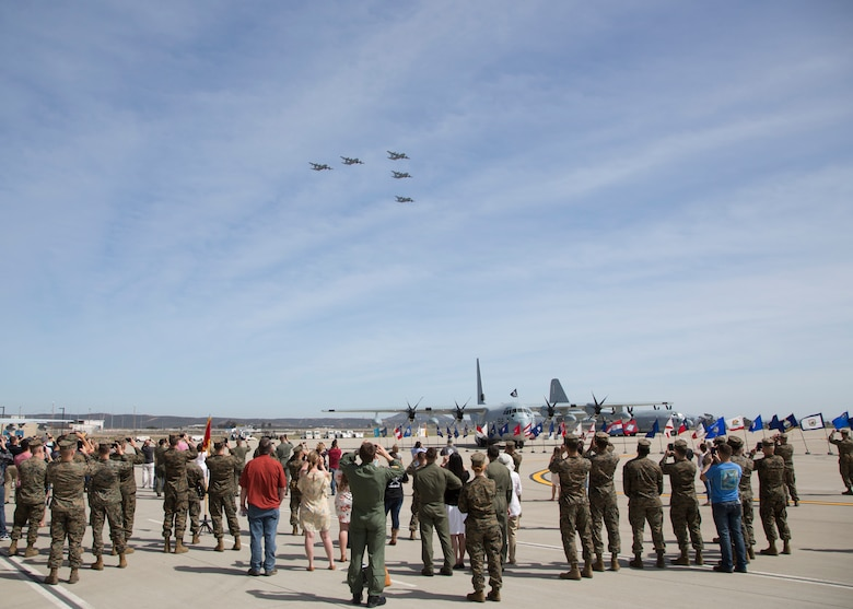 VMGR-352 celebrates their 75th anniversary