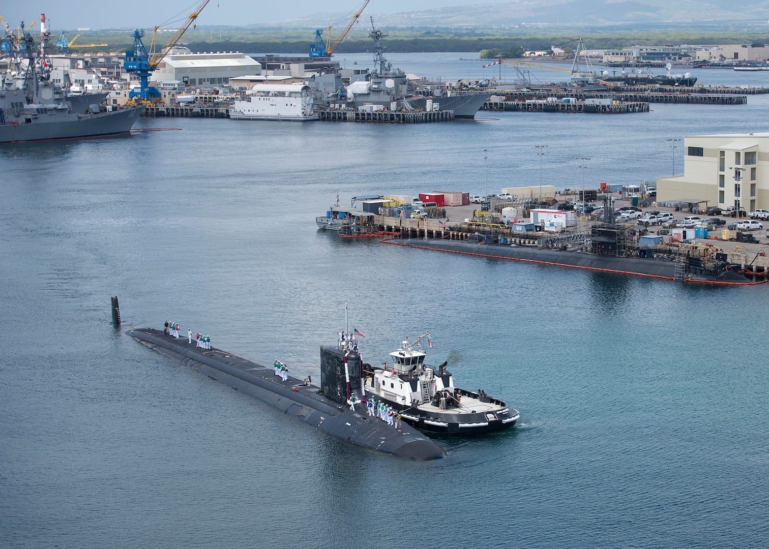 USS Mississippi Returns to Pearl Harbor
