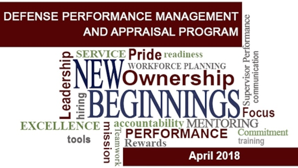 On April 1, 2018, the Defense Contract Management Agency transitioned to the Defense Performance Management and Appraisal Program, or DPMAP.