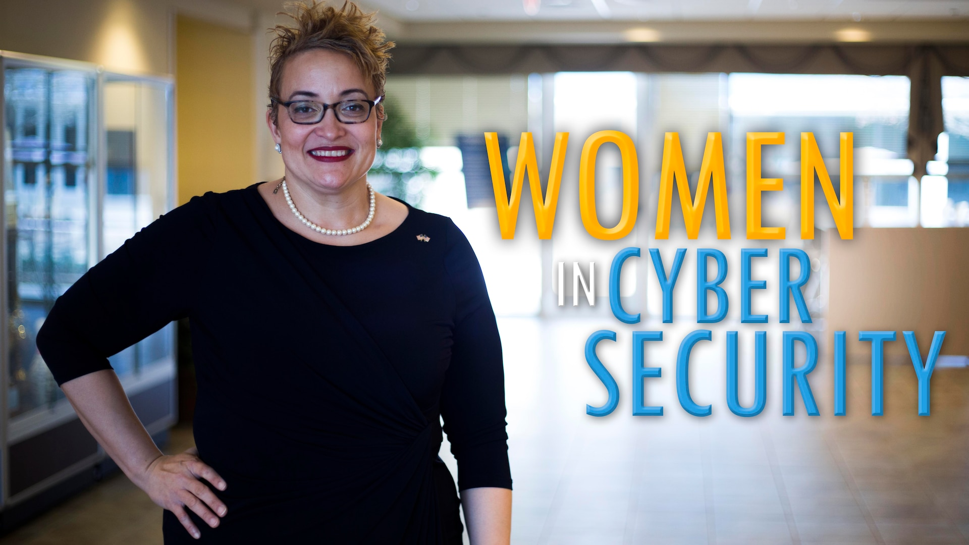 Dana Mason shares her experience working in cybersecurity for the Defense Contract Management Agency as an inspection program and audit readiness program manager. She has been in the career field for 11 years and encourages women to pursue their career goals. (DCMA graphic by Elizabeth Szoke)