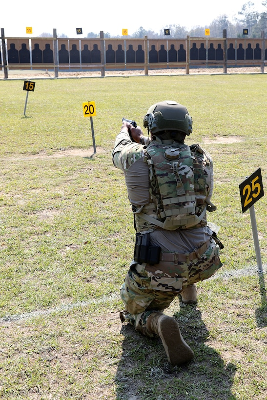 108th Soldier competes in bullseye competition