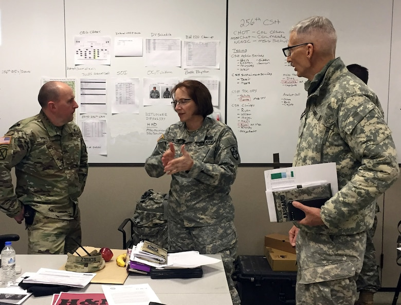 USARC's Regional Medic Bridge CSTX prepares for the collective mission and survivability
