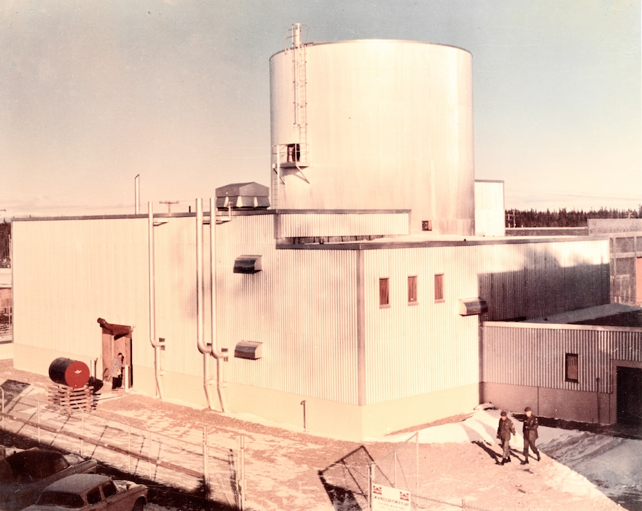 Undated image of SM-1A reactor at Fort Greely, Alaska