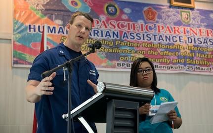 Pacific Partnership 2018 Enhances Interoperability with HADR Seminar