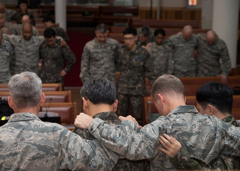 U.S., ROK air force chaplains hold joint training