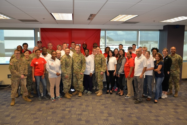 The U.S. Army Corps of Engineers Recovery Field Office, held a change of command on Mar. 30, 2018. Maj. Manuel Orozco assumed command of the RFO from Lt. Col. Roberto Solorzano.