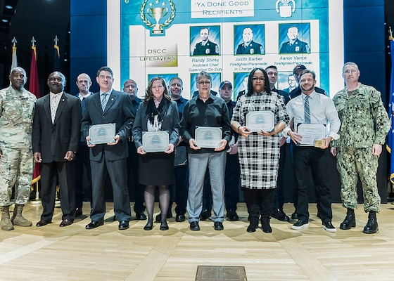 DLA Land and Maritime award recognition