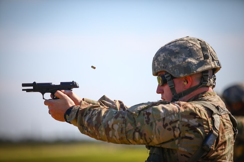 350th CACOM Best Warrior Competition