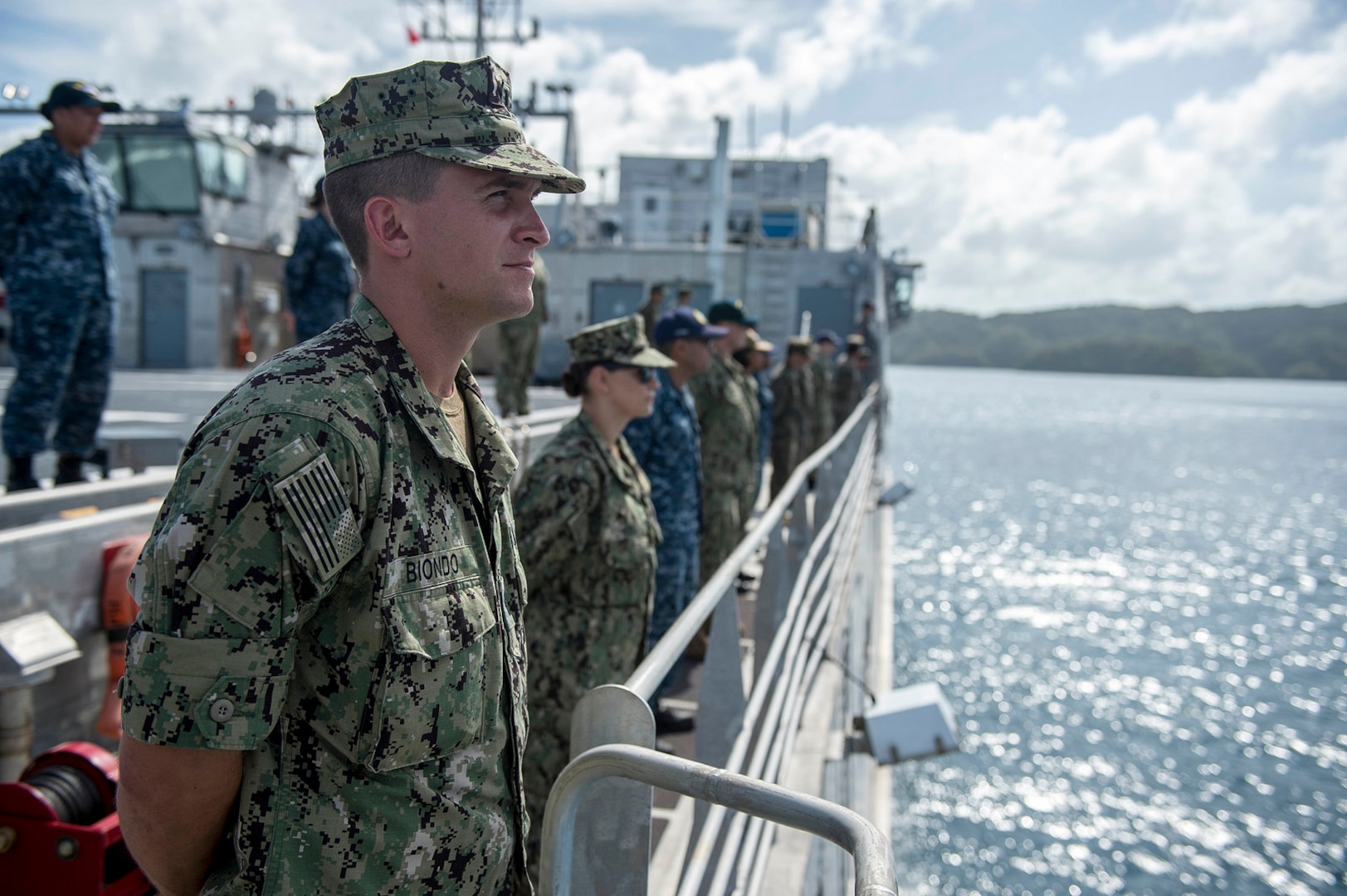 Pacific Partnership 2018 mission begins in Palau