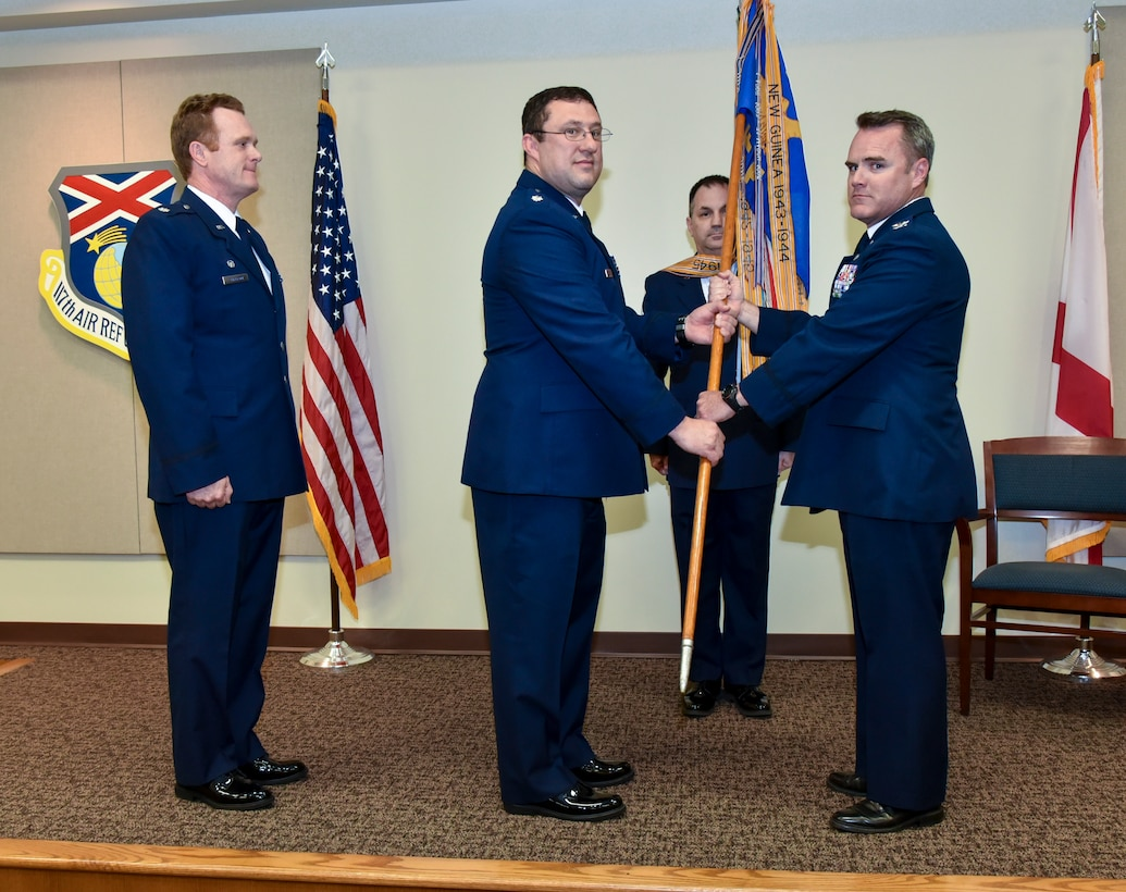Lt. Col. Whaley Assumes Command