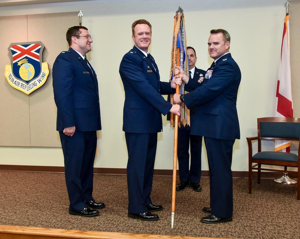 Lt. Col. David Etheredge Relinquishes Command