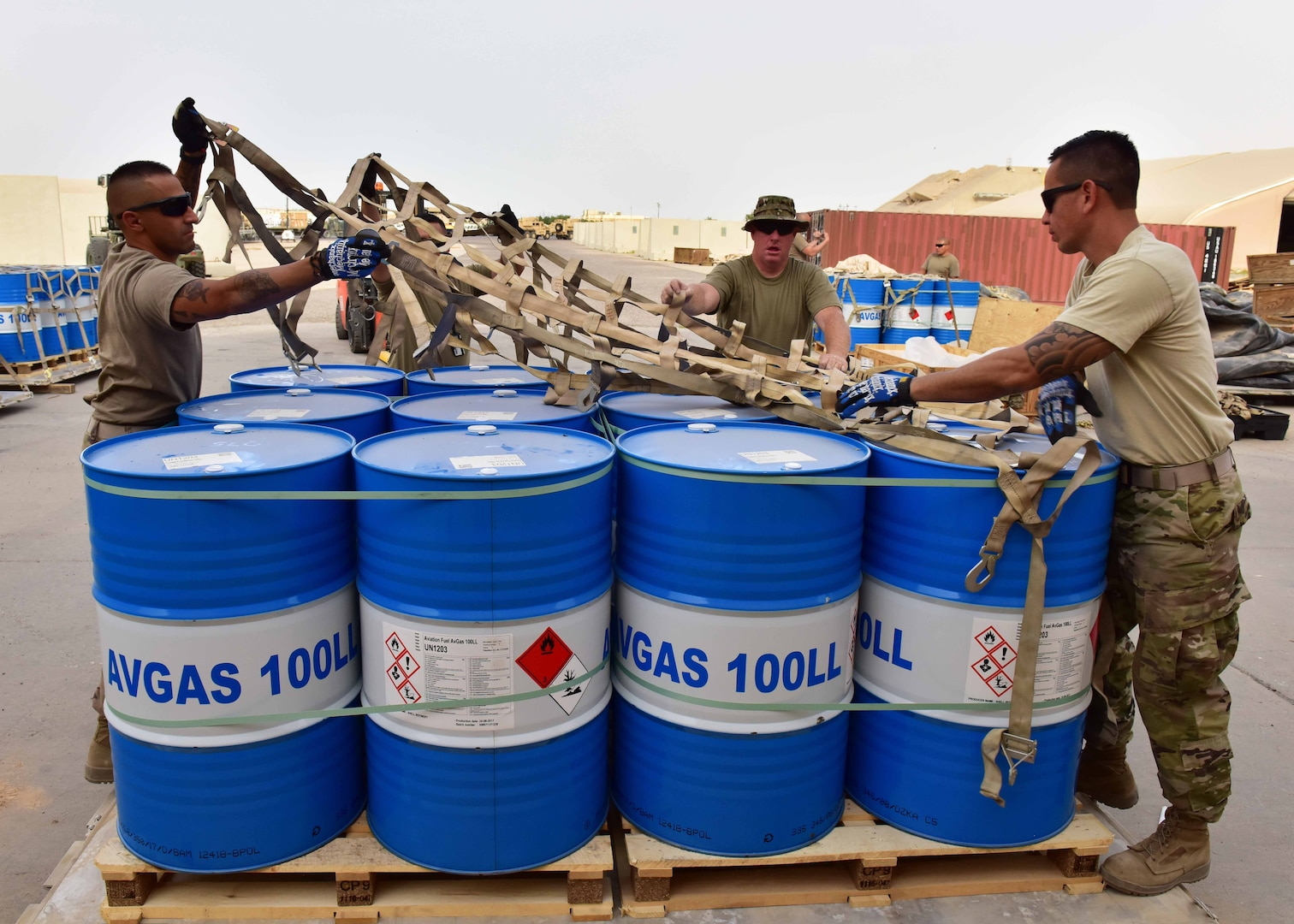The 386th Expeditionary Logistics Readiness Squadron's fuels management flight is responsible for supplying approximately 150,000 gallons of fuel a day supporting Operation Inherent Resolve. The POL team works tirelessly to improve fuel efficiency, saving the Defense Logistics Agency and U.S. Air Force time and money. Maintenance upgrades to the fuel distribution structure is currently underway with a plan to redesign the system for effective expeditionary results.