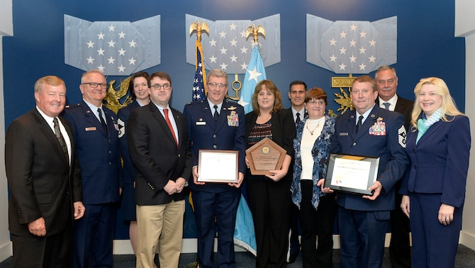 117th Air Refueling Wing Family Readiness Award