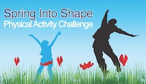 "The Civilian Health and Promotion Services office is conducting a ""Spring into Shape"" challenge at MacDill Air Force Base, Fla., April 9 through May 18, 2018."