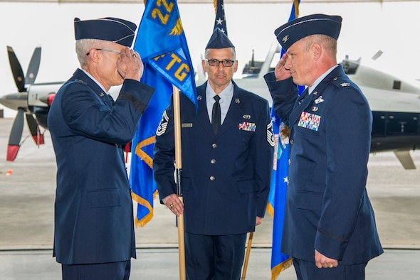 Duckworth assumes command of 340th FTG