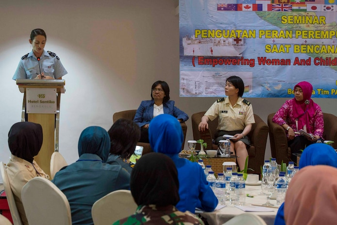 Pacific Partnership 2018 hosts Women, Peace and Security conference