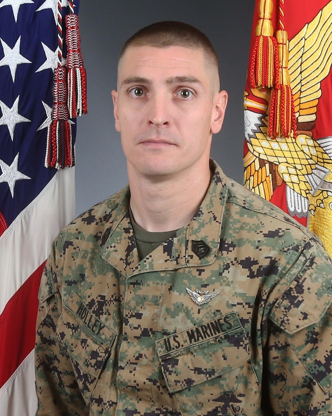 Gunnery Sgt. Derik R. Holley, 33, of Dayton, Ohio, was a CH-53 helicopter crew chief assigned to HMH-465. He joined the Marine Corps in November 2003.