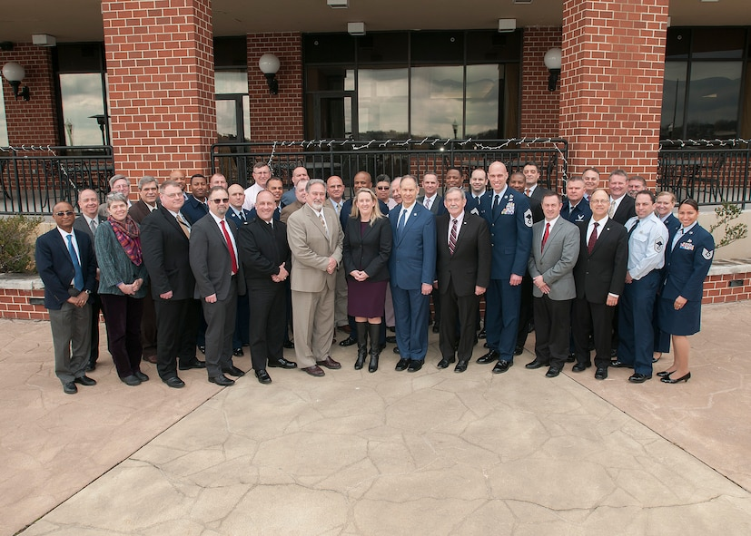 Occupational Safety Corporate Committee group photo