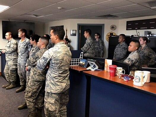 310th Airlift Squadron hosts a squadron tour