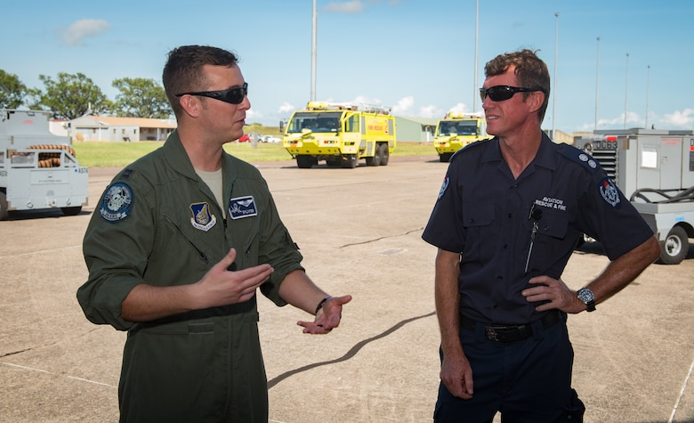 U.S. forces intergrate with Australian during EAC at RAAF base Darwin