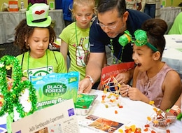 Shamrock Science at the Museum
