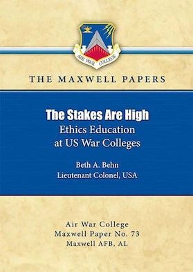 The Stakes Are High: Ethics Education at US War Colleges