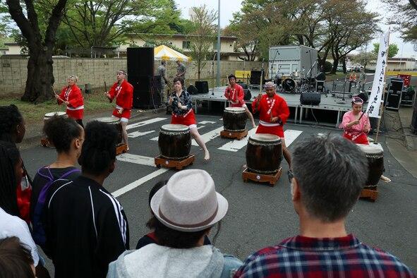 Yokota Holds 2018 Sakura Spring Festival
