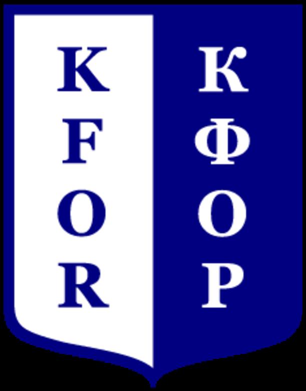Kosovo Forces insignia
