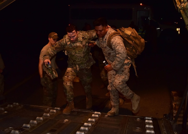 Eight wounded warriors, who have visible and invisible injuries from combat, were on a mission to find closure by returning to the place of their traumatic incident through Operation Proper Exit.