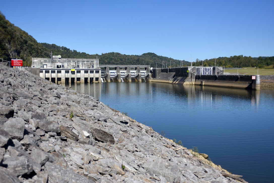 The U.S. Army Corps of Engineers Nashville District invites the public for a free tour of Cordell Hull Dam Hydropower Plant in Carthage, Tenn.  Free tours for the general public are Saturday, May 19, 2018; and Saturday, June 9, 2018. (USACE Photo by Lee Roberts)