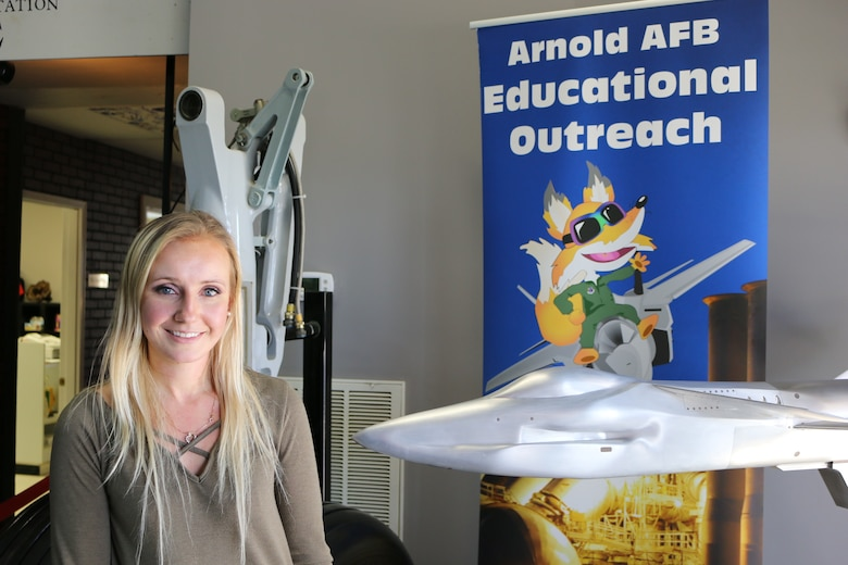 Olga Oakley is the new director of the Arnold Air Force Base STEM program.