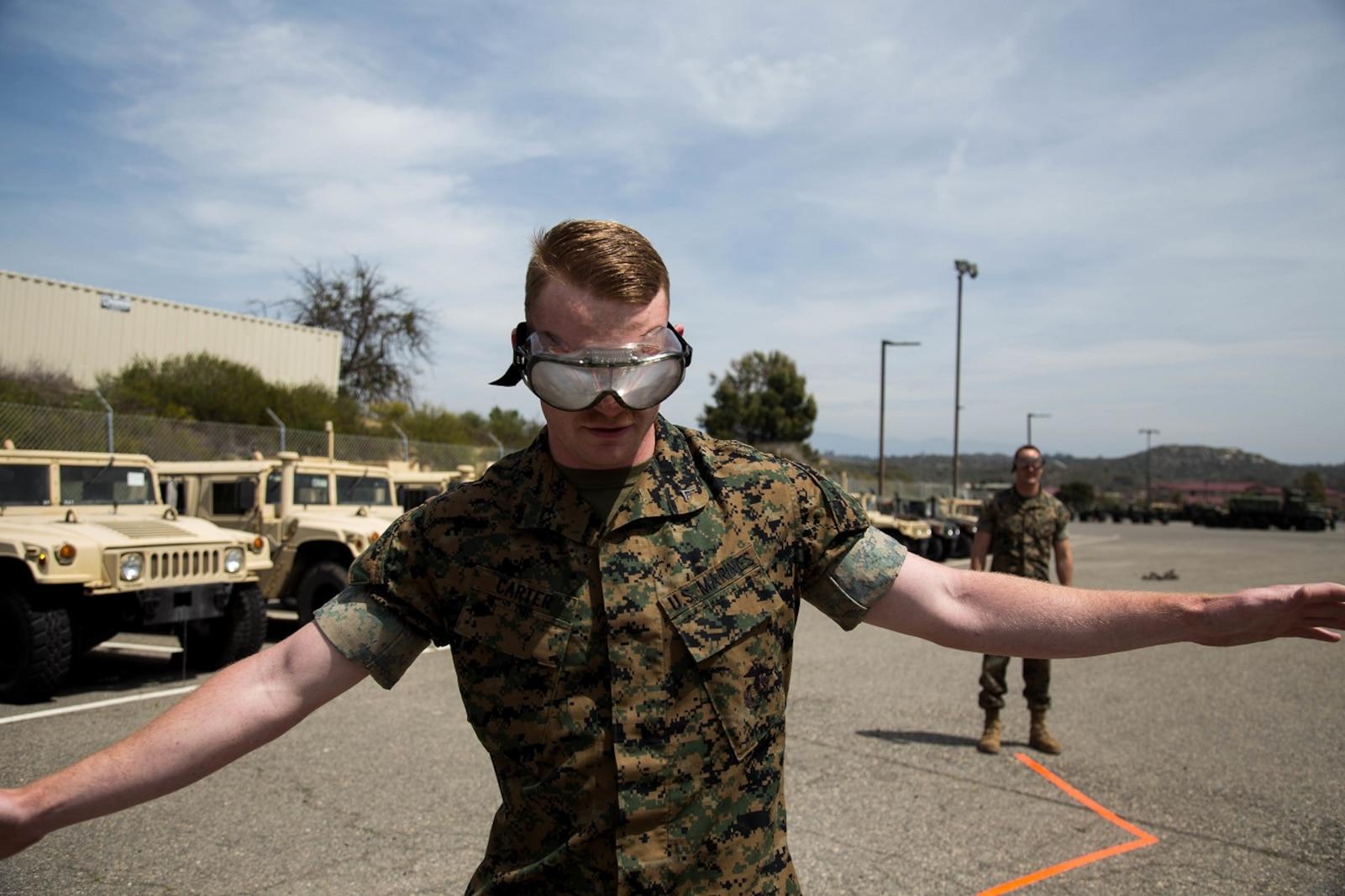 Combat Logistics Regiment 1 Participates in the Alcohol Free Weekend event
