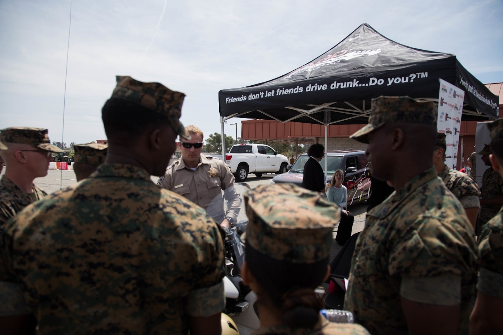 Combat Logistics Regiment 1 Participates in the Alcohol Free Weekend event